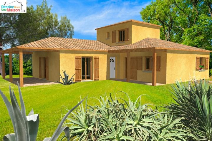 plans de maisons ou villas avec 5 chambres. Black Bedroom Furniture Sets. Home Design Ideas