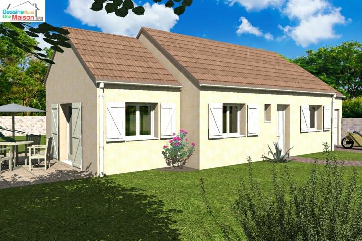 plans de maisons individuelles avec tage ou combles am nag s. Black Bedroom Furniture Sets. Home Design Ideas